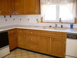 Paint Cabinets, Paneling, Cement or Brick to Transform Your Home at a Low Cost