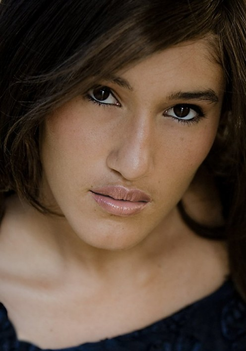 Q'orianka Kilcher's father is Peruvian and her mother Swiss. Q'orianka is simply divine.