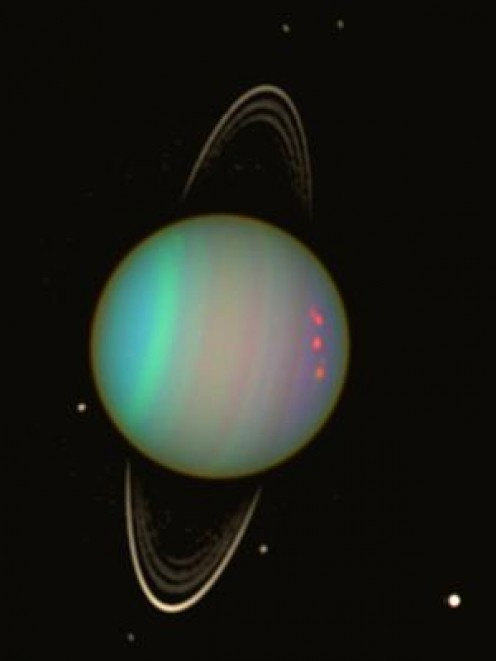 Uranus - described by Nostradamus but only discovered 115 years after his death.  Referenced to in at least two Quatrains.