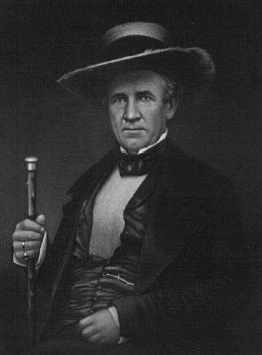 General Sam Houston of the Texian Army
