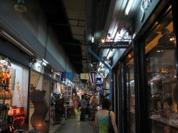 Suan Lum Night Bazaar in Bangkok