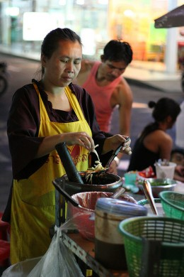 Street food - as long as it's well-cooked and clean-looking, it's good