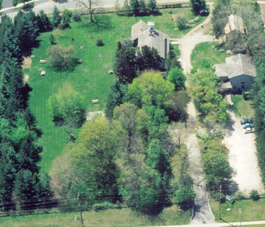 Ireland House and grounds about 1998.