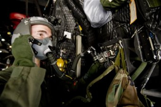 You cannot tell a general from a private once they suit up in flight gear