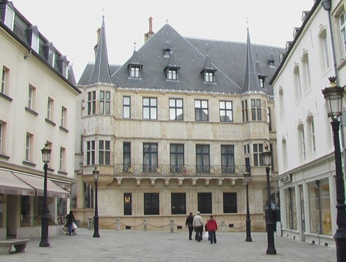 Grand Ducal Palace, City of Luxembourg