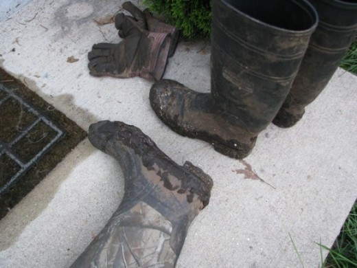 Our muddy boots
