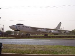 """City of Altus"" B-47 Stratojet on display"