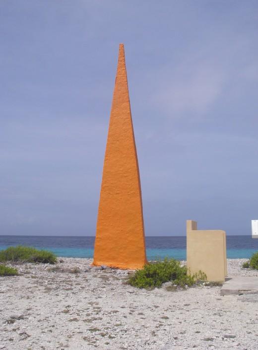 Orange Obelisk