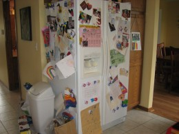 My fridge before.