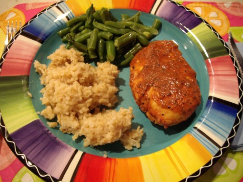 Garlic Soy Pork Chops