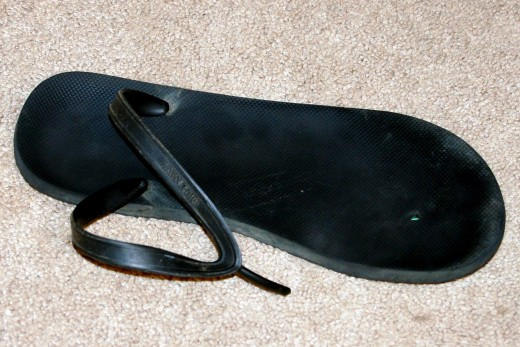 Broken Flip-Flop = Worst Day Ever.