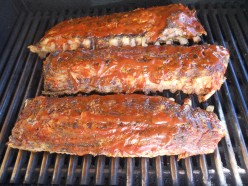 The Best Grilled Barbecue Babyback Pork Ribs Recipe