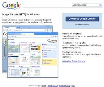 Google Chrome Page