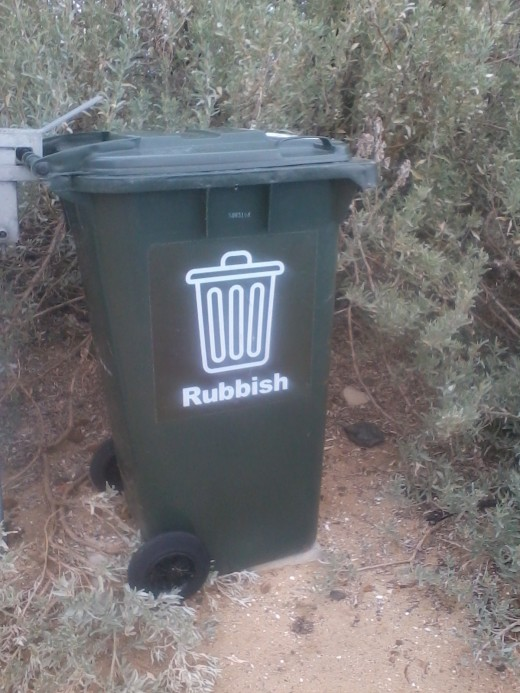 The smelliest bin in Melbourne?
