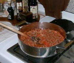 Lidia's Spaghetti Sauce Recipe