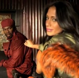 Nicole Scherzinger and 50 Cent performing will perform their new video Right There on American Idol 2011 Top 3 Results night May 19, 2011