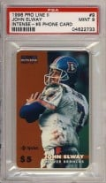 The Hardest John Elway Cards to Collect: 1996