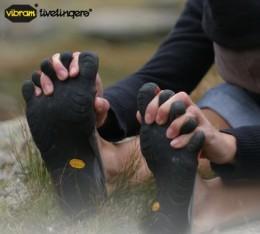 Vibram Five Fingers work on all sorts of terrain