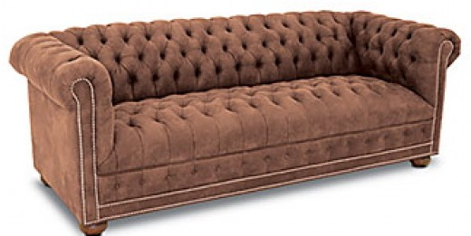 Soft fabric version of the Chesterfield.