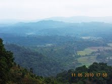 A view from Raja's seat  - Madikeri Coorg The Abode of Gods