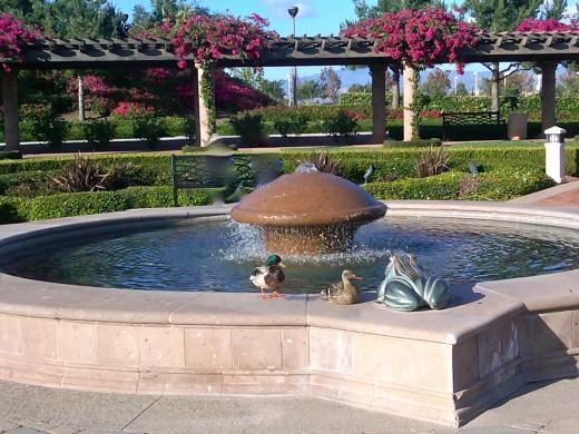 Colonel Bill Barber Marine Corps Memorial Park in Irvine, California.