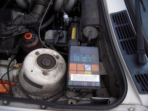 Car's Relay and Fuse Box