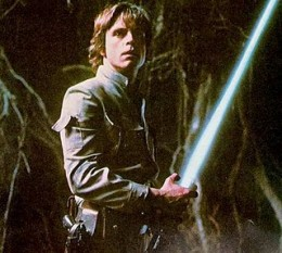 """""""I'm Luke Skywalker. I'm here to rescue you."""" """"No. No. That's not true. That's impossible! """""""