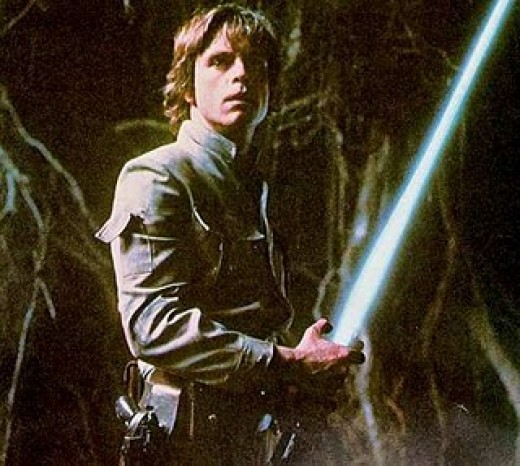 """I'm Luke Skywalker. I'm here to rescue you."" ""No. No. That's not true. That's impossible! """