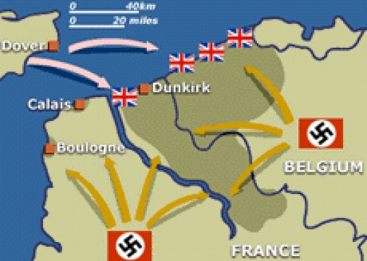 an analysis of the views of historians on the battle of dunkirk during world war two
