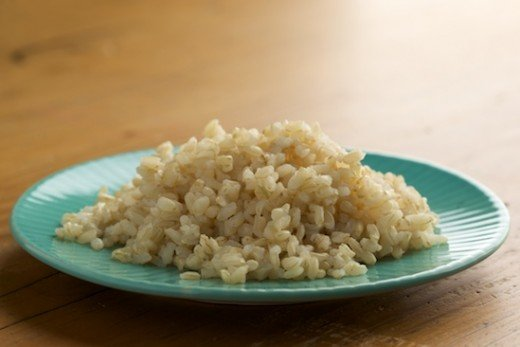 Good cooked brown rice