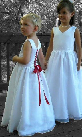 Trendy Flower Girl Dress