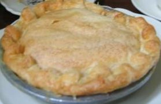 Homemade chicken pot pie can be assembled in less than 15 minutes.