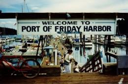 Port of Friday Harbor on the Island of San Juan