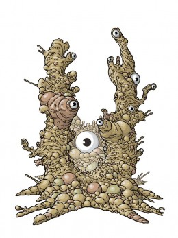 Yog-Sothoth- every bit as gross-looking as he sounds.