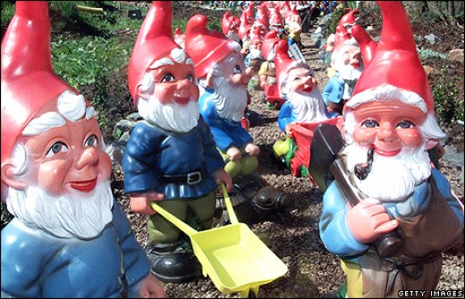 funny gift ideas. #1 GNOMES. Gnomes - 2011 Cute