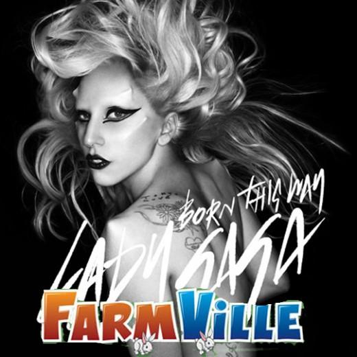 Lady Gaga on FarmVille