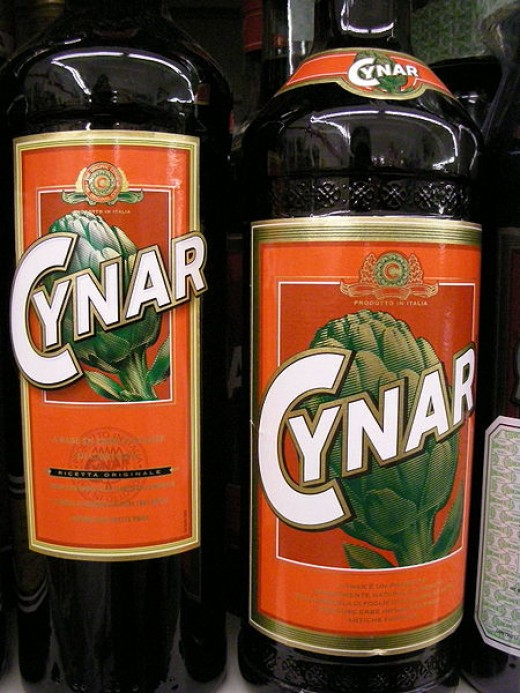 Cynar, artichoke liquere