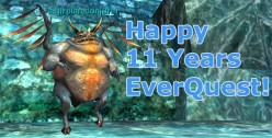 Everquest - the longest running online RPG game ever.  It is still going strong and just celebrated its 12th anniversary in April 2011.