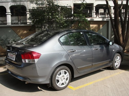 2009 Honda City light grey color
