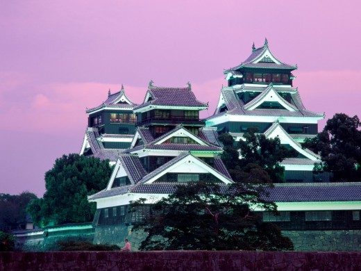 Kumamoto castle.