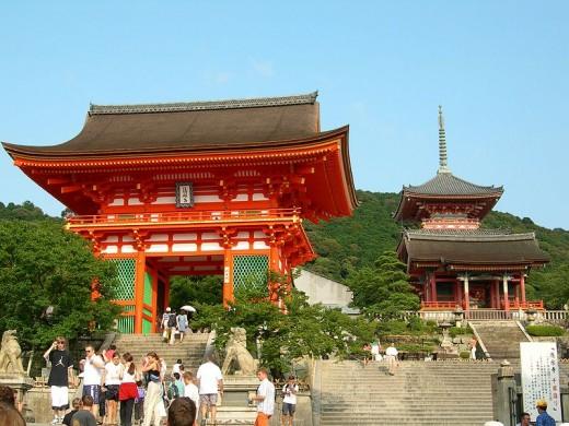 Kiyomizudera - Buddhist temple-palace complex.
