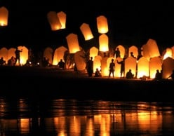 The History of Flying Chinese Sky Lanterns