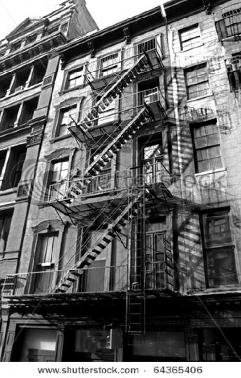New York City Apartment Building.