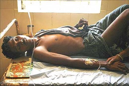 cholera patient