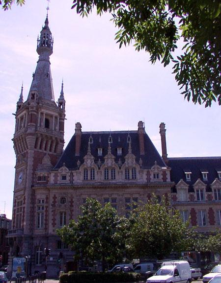 Belfry of the former chamber of commerce, Tourcoing
