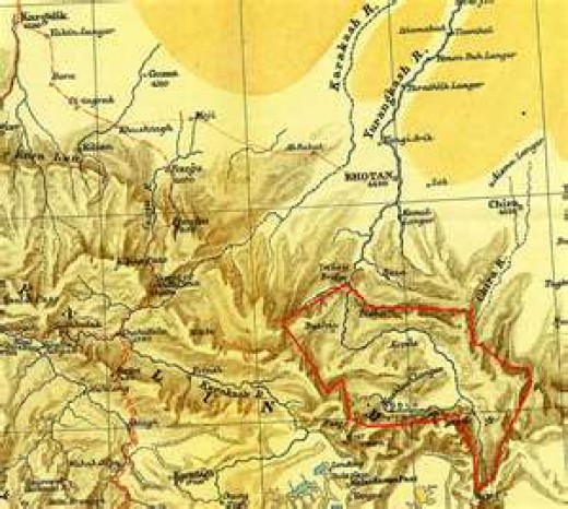 The Kunlun Mountains