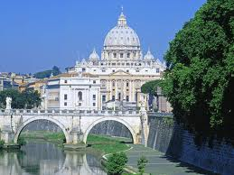 Basilica of Saint Peter Rome, there are many places of worship in the world and Saint Peter Basilica is the main one for the Roman Catholic religion