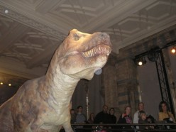 London Fun Dino Frights- Natural History Museum Kensington Review