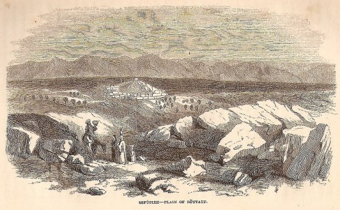 Sefurieh - Plain of Buttauf, Palestine, picture p. 133 in W. M. Thomson: The Land and the Book; or Biblical Illustrations Drawn from the Manners and Customs, the Scenes and Scenery of the Holy Land. Vol. II. New York, 1859 see: http://en.wikipedia.or