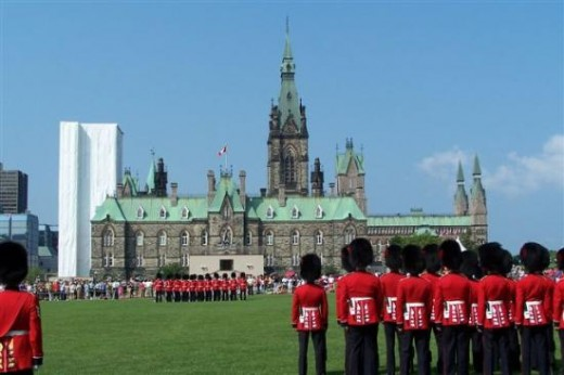 Changing of the Guard at the Parliament Buildings - Every summer morning at 10:00am